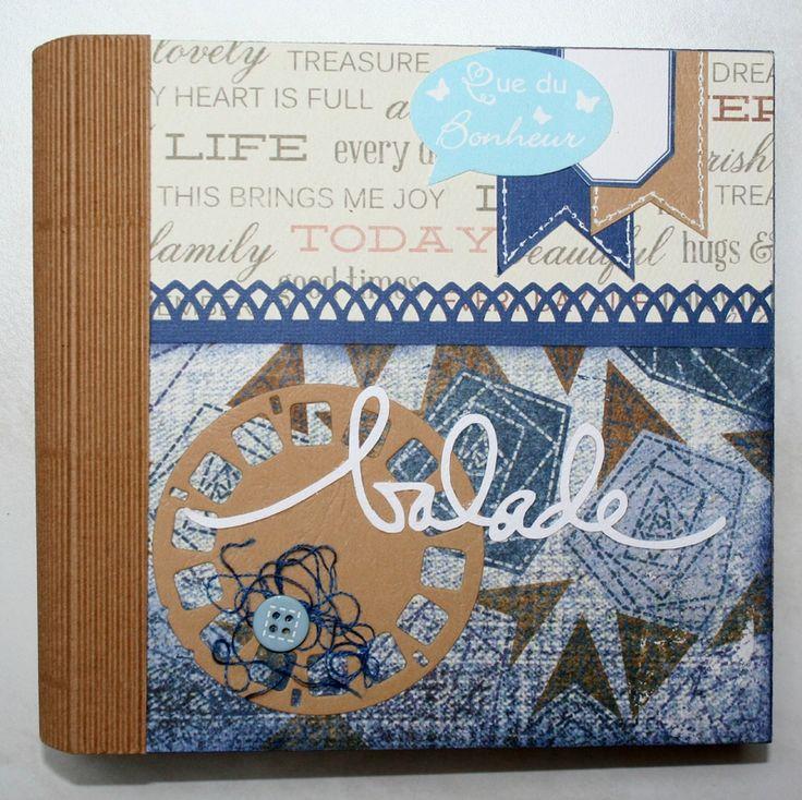 Accordeon Notebook Craft
