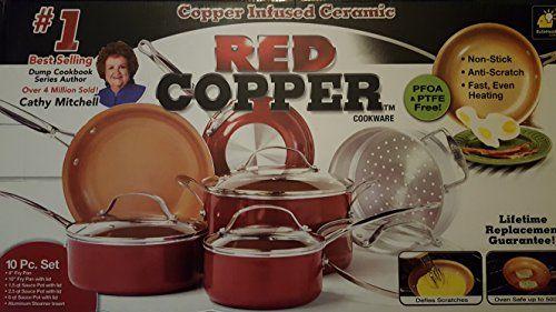 Red Copper Ceramic Non-Stick 10 Piece Cookware Set by Bul... https://www.amazon.com/dp/B01MRI635K/ref=cm_sw_r_pi_dp_x_C8CVybS76PXVT