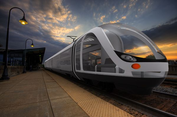 If this creative design concept for an Auto Train becomes reality, you won't have to leave your car behind when you want to travel by train. Better yet, you can stay in your car and take in the glorious view, while residing in the familiar surroundings of your own vehicle.