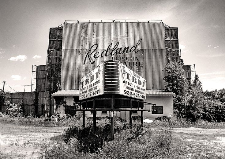 The old Redland Drive In.....I've seen a ton of movies there...