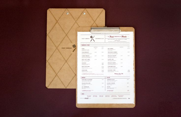 Kay Bros BBQ Restaurant Branding | Restaurant branding, marketing and other notes on various design topics