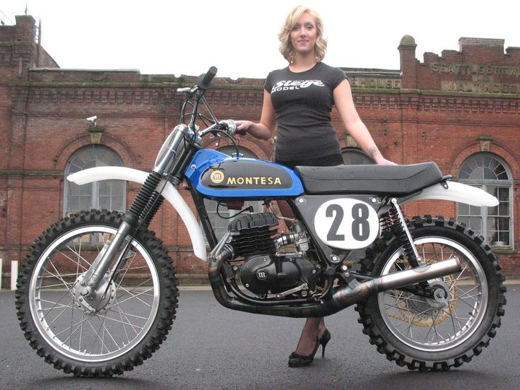 Montesa off-road vintage bike