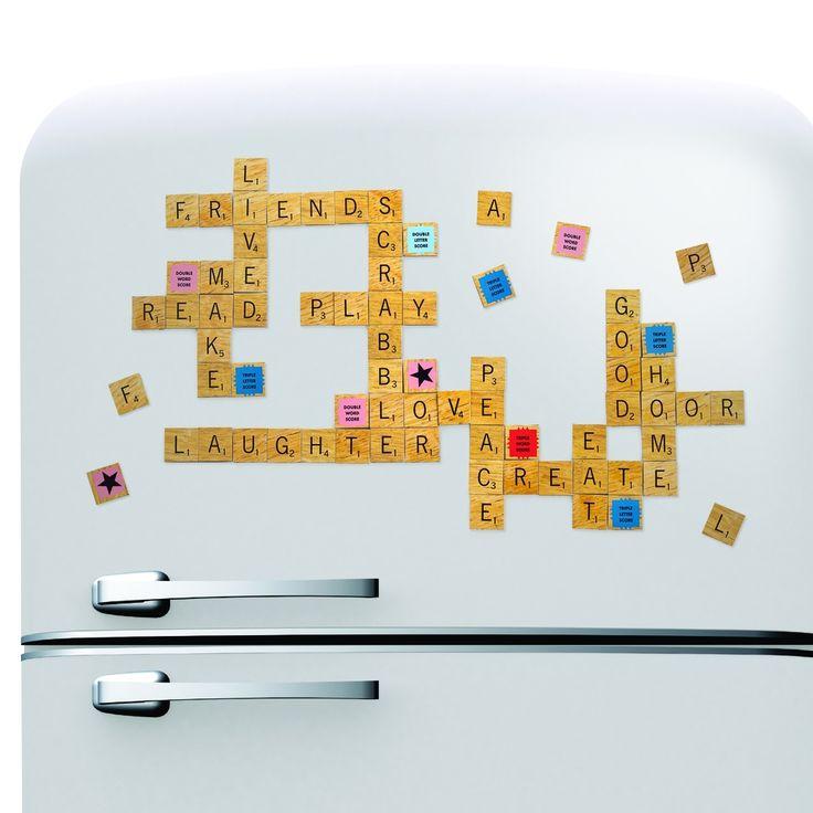 Scrabble Fridge Magnets   hardtofind.