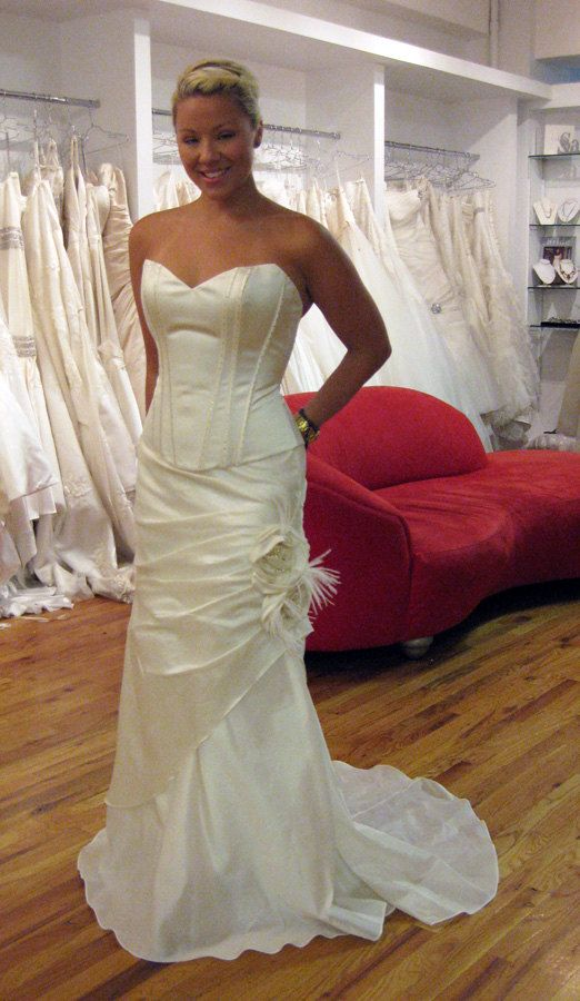 Trending  piece Wedding Dress Sample Sale by lepaumere on Etsy