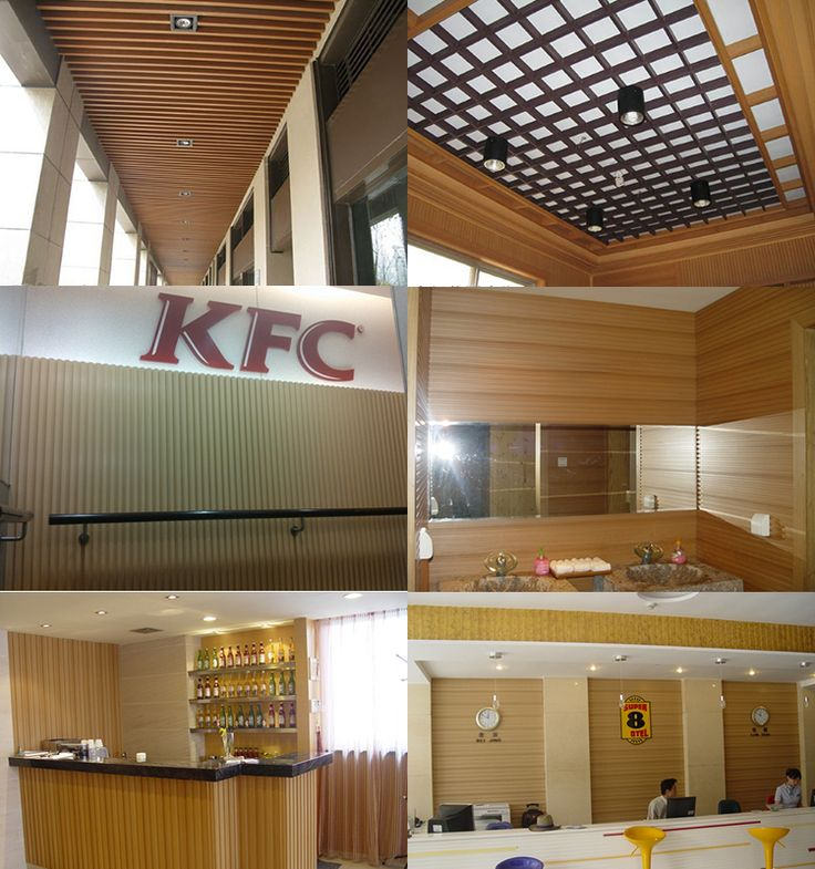 Wood plastic interior wall panelling elegant wall panels - Interior wall sheeting materials ...