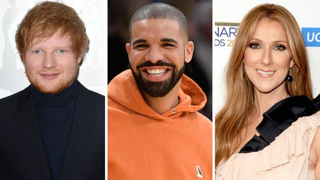 Celine Dion Drake Ed Sheeran and More to Perform at 2017 Billboard Music Awards