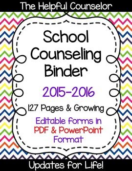 Need a little organization in your counseling program?  #schoolcounseling