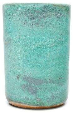 Object & Totem Tumbler Cup, Patina - contemporary - glassware - LEIF