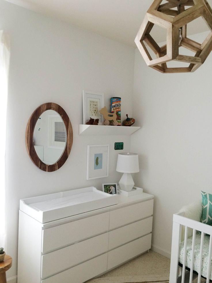 Espejo balda baby room pinterest espejo - Ikea comodas bebe ...