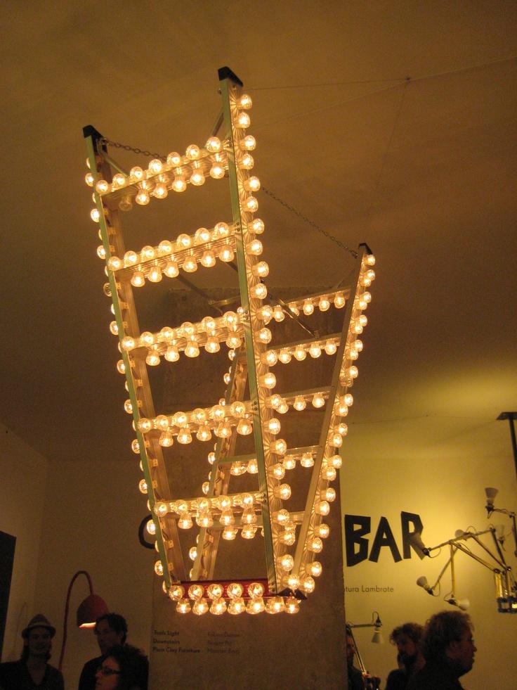 lampladder van Maarten Baas