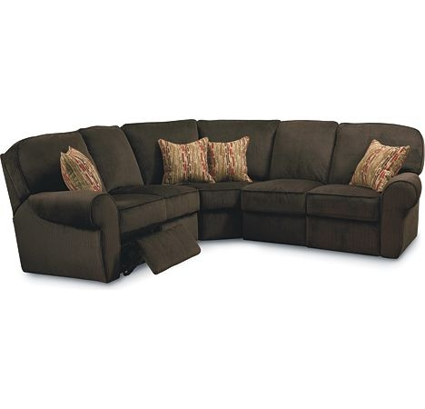 The Megan Sectional Shown here! Come test it out at Chuck's Furniture. Comes as reclining sectional, reclining sofa, loveseat and big chair, also available with POWER RECLINING OPTIONS!!! 304.292.7621