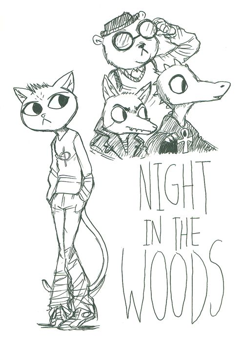 9 best images about night in the woods fanart on pinterest posts nice and ash. Black Bedroom Furniture Sets. Home Design Ideas
