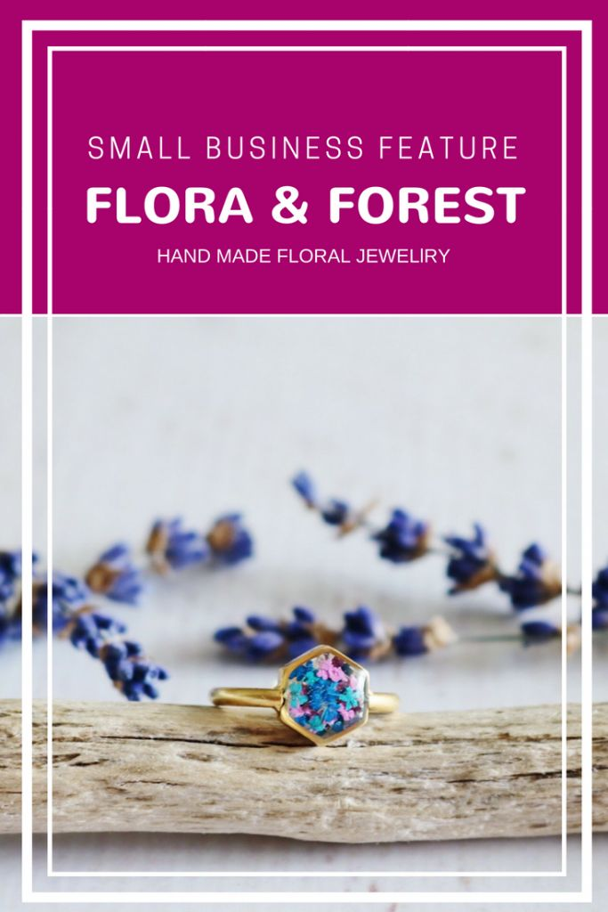 This week I am featuring one of our awesome customers for our small business feature. Flora And Forest has been impressing us with her unique handmade jewelry images in Instagram for a long time.