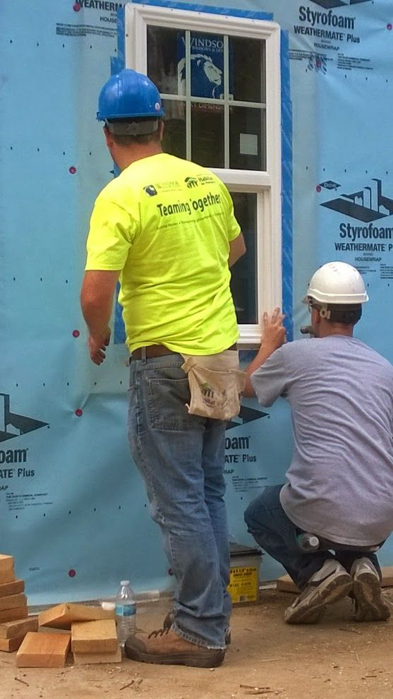 Windsor Windows & Doors - Google+  Windsor team members helping at a Habitat build on Logan Avenue in Des Moines, Iowa, June 25 and 27, 2014. We're proud to support such a worthy cause! #habitatforhumanity