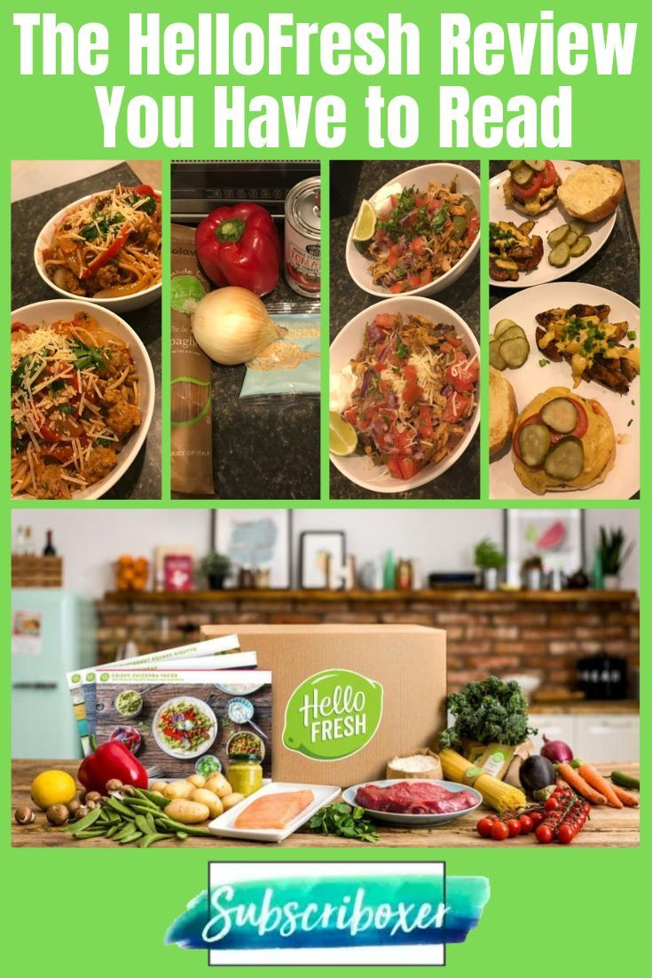 Hellofresh  Size Specs