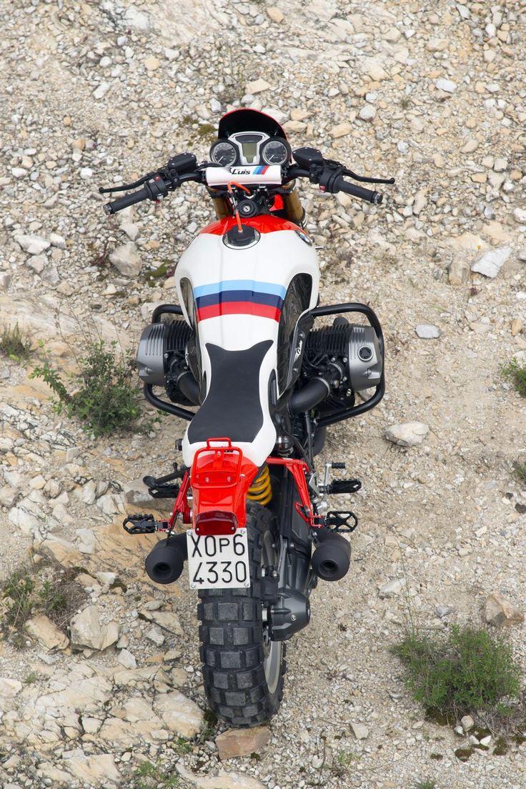 BMW R NineT Street Tracker Marlboro by Luis Moto - Photo by Giancarlo Laudonia #motorcycles #streettracker #motos | caferacerpasion.com