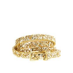 superskinny glitter belt for clara or ruby s dress