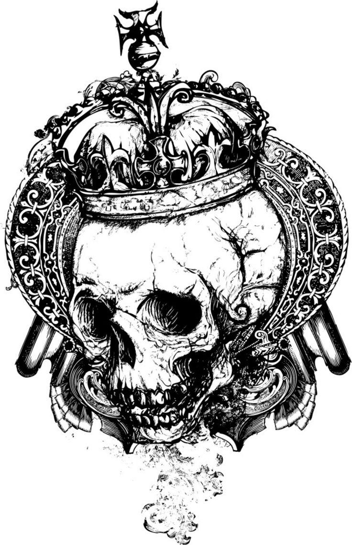 17 besten skull Bilder auf Pinterest | Stier Schädel, Unheimlich und ...