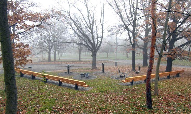 Centrální park Hanspaulka - Kotlářka - AND Architektonický Ateliér