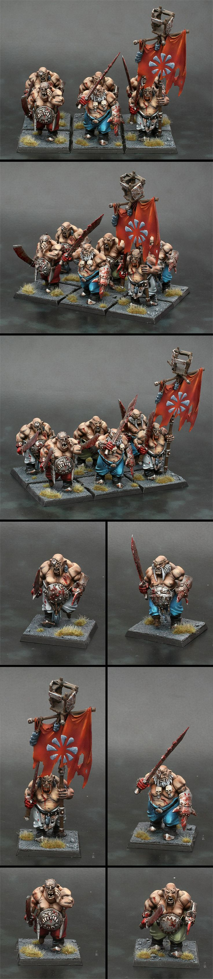 6 Ogre Kingdoms Bull Pirates