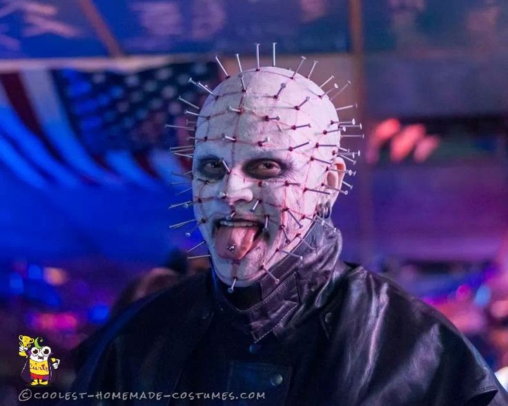 coolest hellraiser pinhead costume halloween ideashalloween costumesdisney halloweenscary - Best Scary Halloween Costume