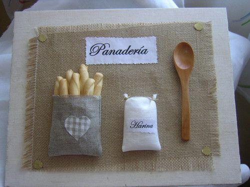 """Cuadro para Cocina """"Pan"""". : Cuadro para cocina, hay mas modelos"""