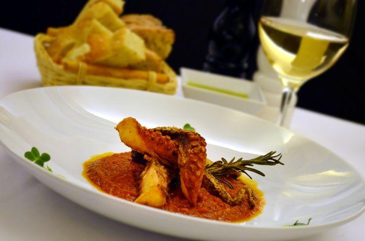 Restaurant Bresto - new menu 2017 -  POLPO MARINATO (fried octopus)