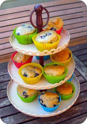 Het Thuisproject: Suikervrije banaan-bosbes muffins