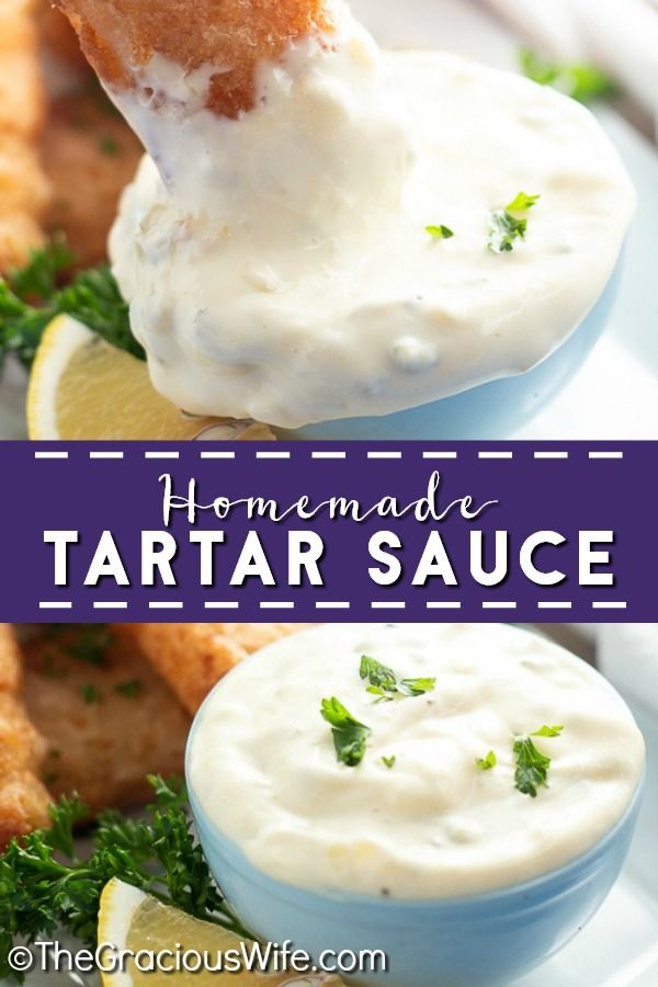 Make This Creamy Tangy Homemade Tartar Sauce Recipe In Just 5 Minutes To Go Perfectly With Your Favorite Fish D In 2020 Homemade Tartar Sauce Recipes Homemade Recipes
