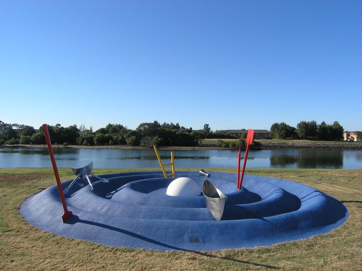 'A Drop in the Ocean' Linwood Play sculpture Artwork by Braddon Snape copyright Braddon Snape