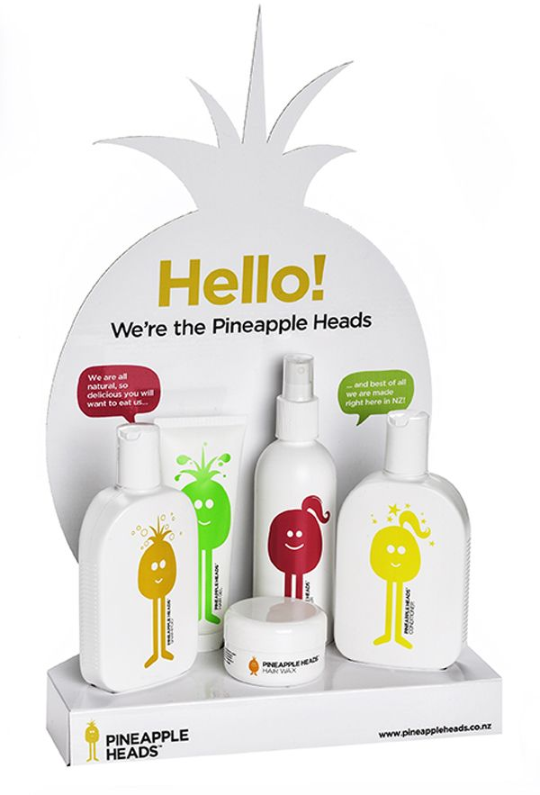 Pineapple Heads on Packaging of the World - Creative Package Design Gallery