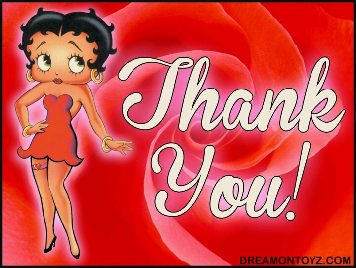 Image result for Thank You betty boop images