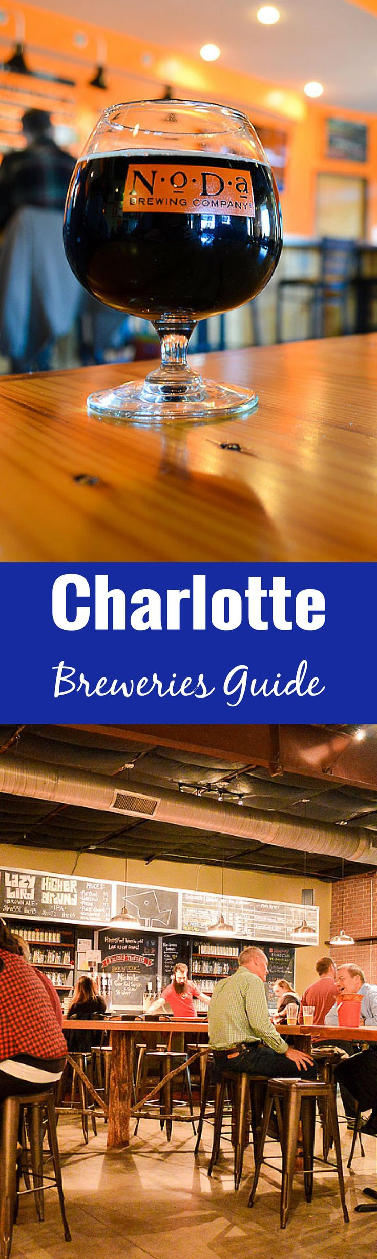 Enjoy a craft beer filled weekend in Charlotte, North Carolina with this Charlotte Breweries Guide. The best of Beer City, North Carolina!