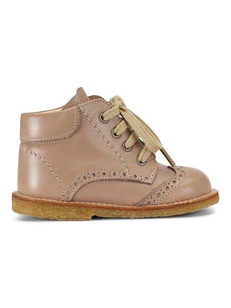 Angulus ♥ Begynder sko med snøre & hulmønster - make up