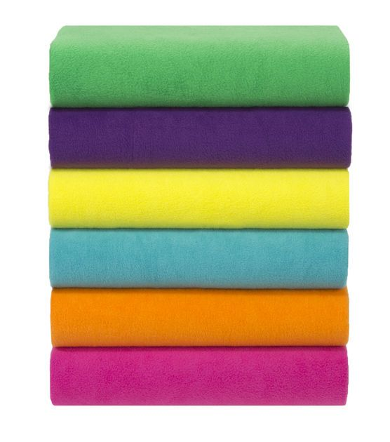 Anti Pill Fleece Fabric Solids: