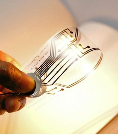reading light - Reading physical books is not yet a lost art and Kyouei Design's bookmark that also functions as a reading light could prove to be very popul...