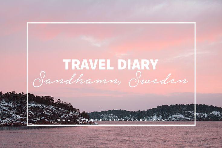 Travel Diary: Sandhamn, Sweden. Photographer: Wanderlust by Jona