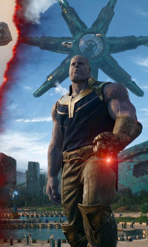 Thanos In Titan Movie Avengers Infinity War 480x800