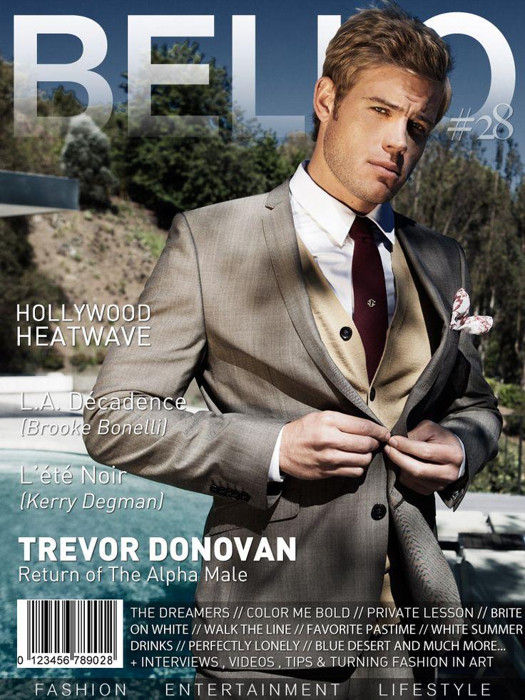 Trevor Donovan by Alek Steph for BELLO Magazine September 2011