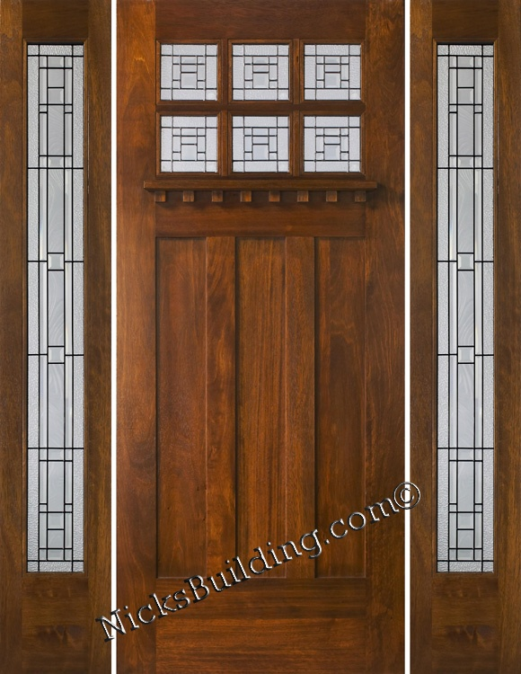 Pin By Dan Cady On Arts And CraftsPrairieArt Deco Home Design Exterior Doors With Sidelights