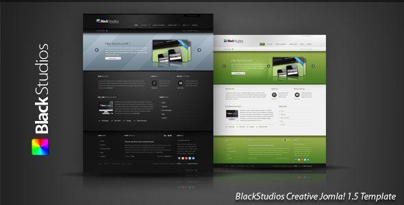 Joomleros! :: Tema: BlackStudios v1.4.0 – ThemeForest Creative Joomla! (1/1) | Joomleros