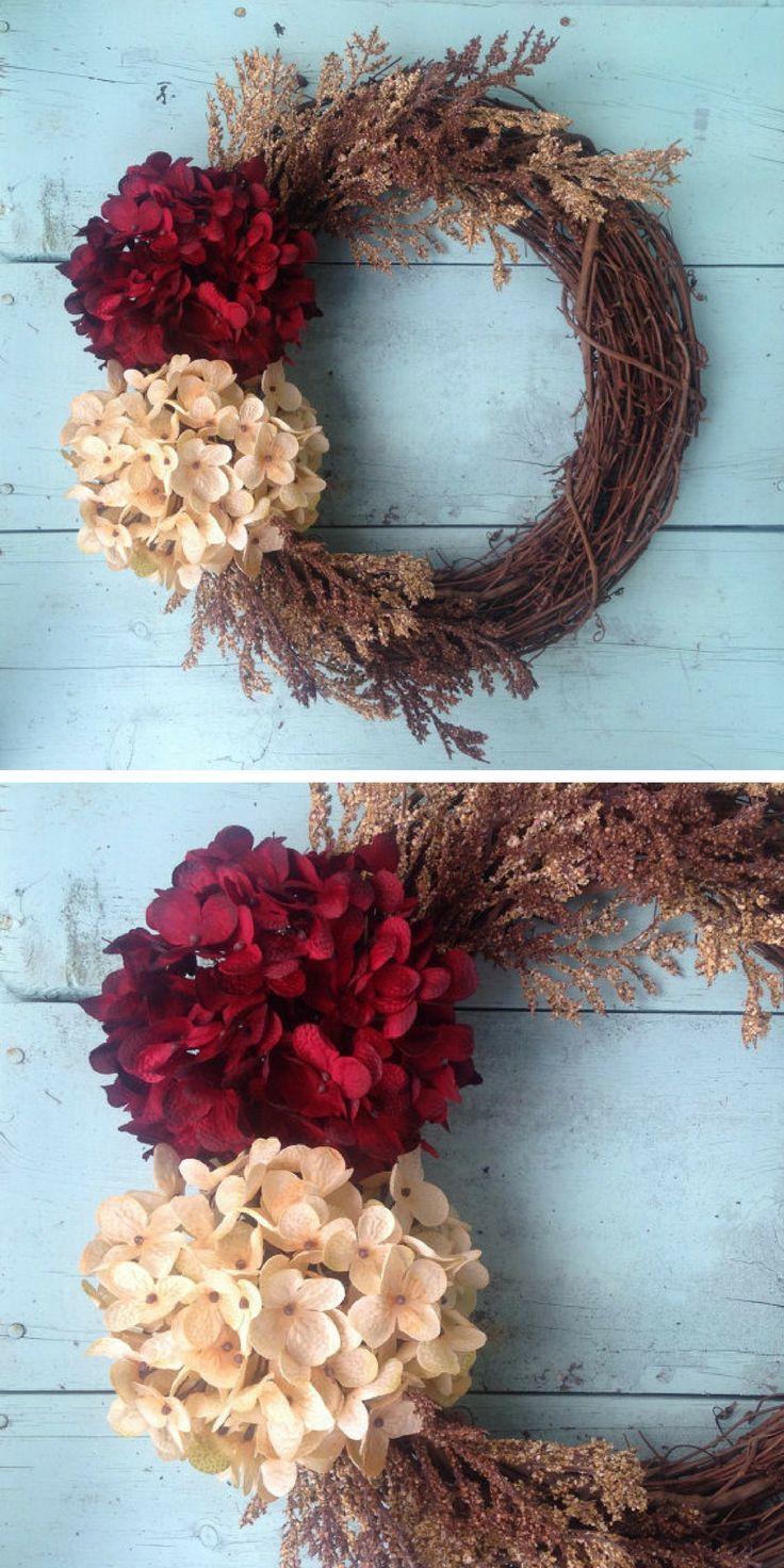 Front Door Wreath | Home Decor | Rustic Home Decor | Farmhouse | Fall Wreaths | Christmas Decorations #affiliatelink
