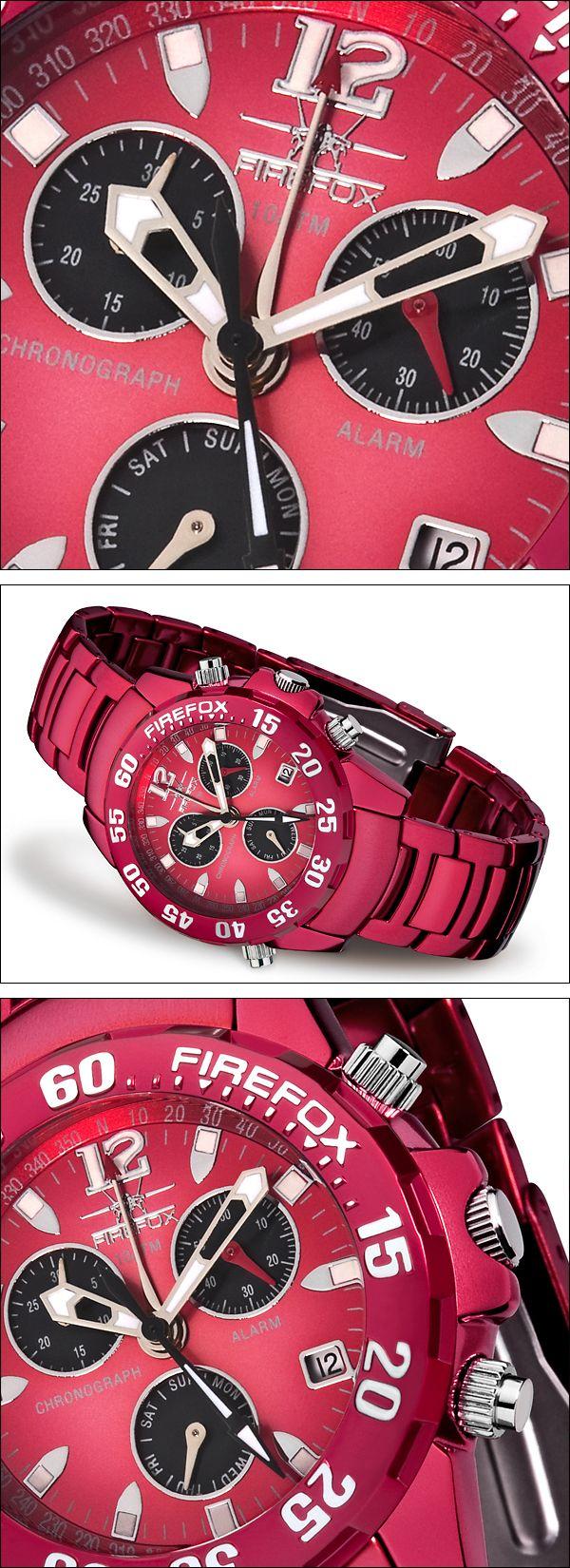 Herrenuhr Chronograph von FIREFOX Uhren für Herren