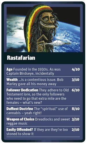God Trumps Rastafarian card
