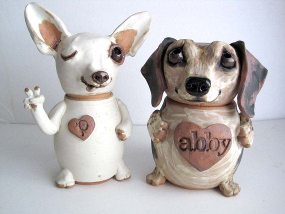 Custom Pet Urn Pottery Cremation Urn by SquareDogPottery on Etsy