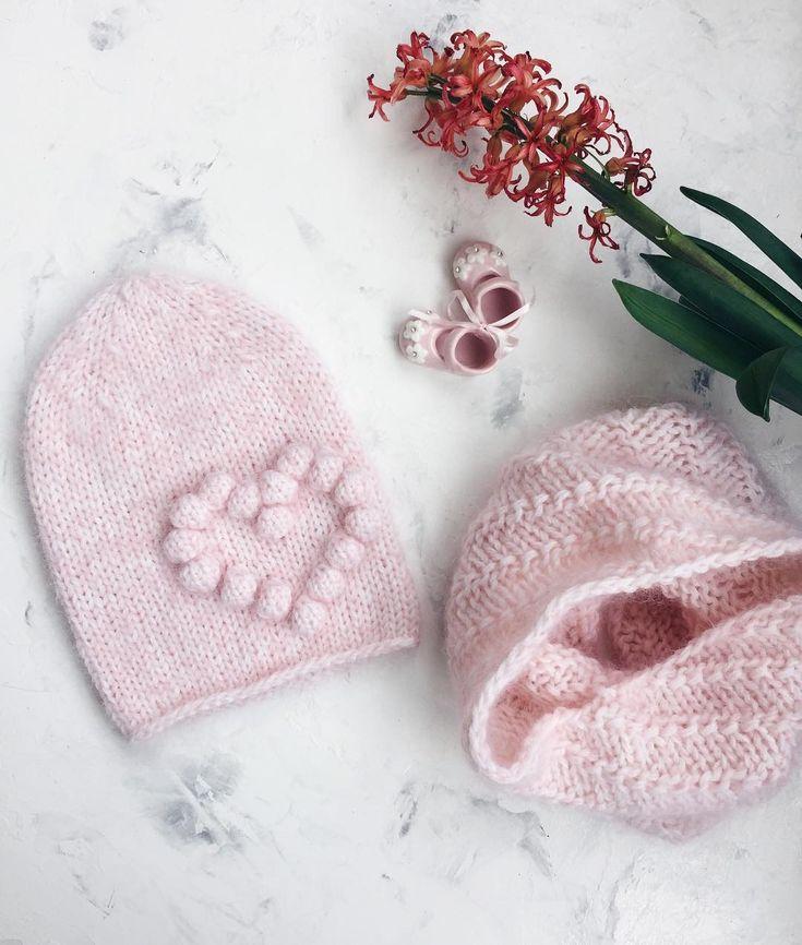 Нежные нежности🌸 Комплект #сердечная_шапка и снуд связан на заказ🙌🏼 ~~~~~~~~~~~~ Сегодня без писанины😄 ____________________________________ #вязаниеназаказ #вязание #вязанаяшапка #вяжутнетолькобабушки #вяжуназаказ #вяжу #knit #knitting #knitsweater #knittinglove #knitting_inspiration #knitstagram #knithat #knitter #knitter #knitted #knitwear #handmade #handknit