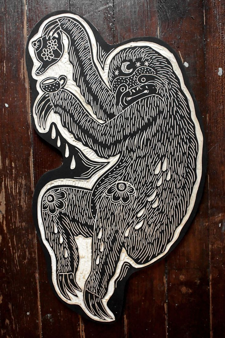 Tea Sloth. Bryn Perrott 2013
