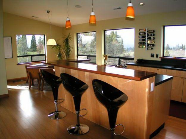 kitchen breakfast bar design ideas