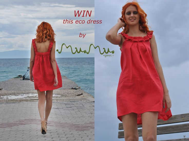 ENTER our GIVEAWAY and WIN the lovely Aphrodite dress from our SS14 collection!!!  https://www.facebook.com/MuMuOrganic?sk=app_289264554441128
