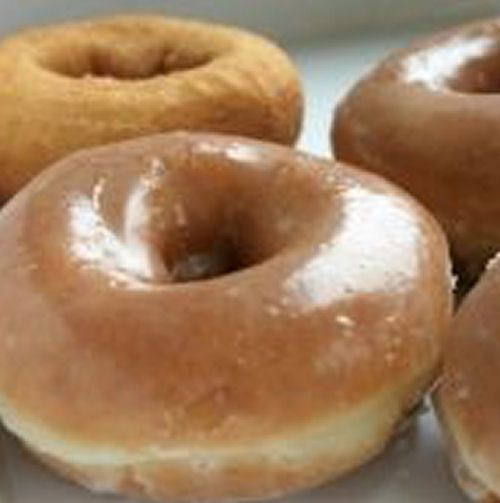 Dunkin' Donuts' Recipes. I wish I could eat stuff like this. The boys will love it, though !!